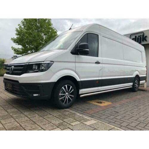 Sidebars volkswagen crafter l2 hoogglans rvs €405 excl btw