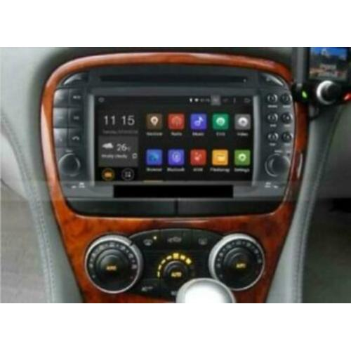 navigatie mercedes sl r230 2004 dvd carkit android 9 carplay