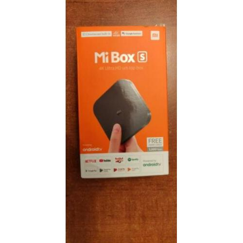 Xiaomi Mi TV Box S 4K(Original Global)