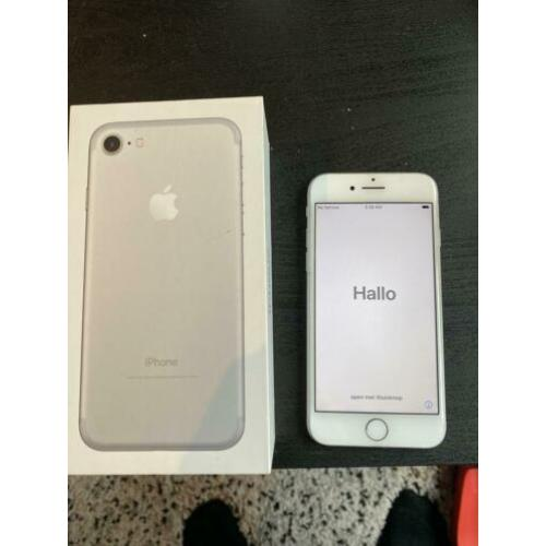 iPhone 7 - 32GB - wit/white/silver