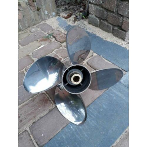 Evinrude Johnson RVS 4 blads propeller RENEGADE