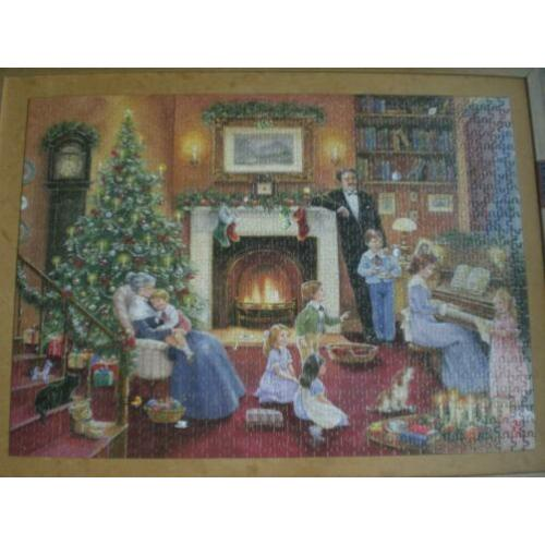 no 2551 - jigsaw family christmas puzzel collectable no 1