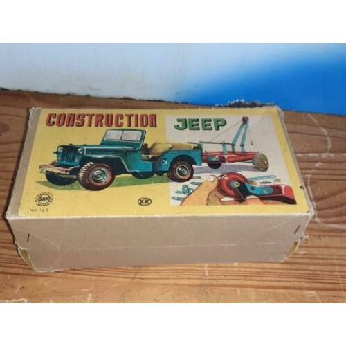 Blikken construction jeep japan